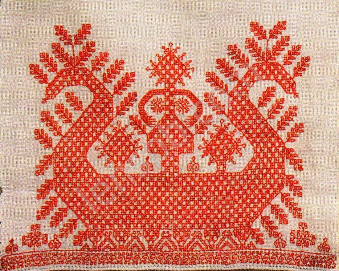 Славянские мотивы в вышивке 18